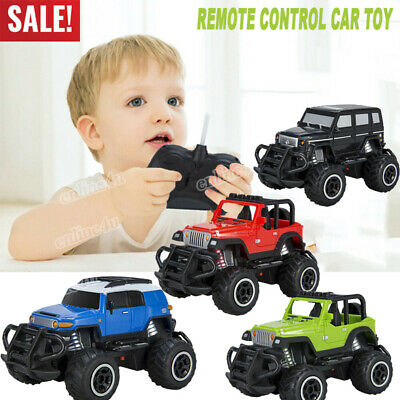 Electric Remote Control Car RC Truck Off Road Vehicle Kid Toddler Toys Xmas Gift • 7.99£