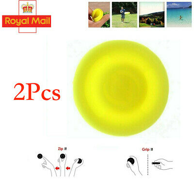 2X Pocket Flying Disc Mini Frisbee Finger Spin Catching Game Throwing Toys UK • 3.65£