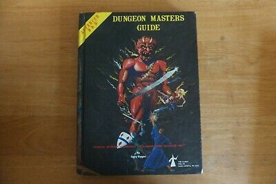 Dungeons & Dragons-advanced-dungeon Masters Guide-tsr Games-revised Edition-dec- • 49.99£