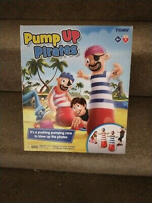 TOMY Pump Up Pirates Inflatable Childrens Fun Game For Kids  • 15£