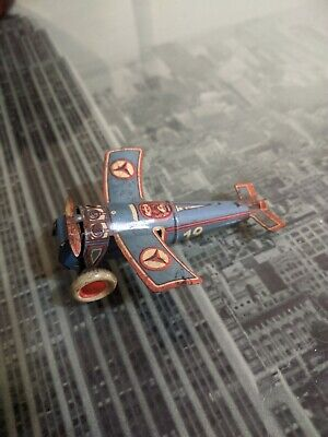 Rare German Small Litho Tinplate Monoplane Made By OROBR Works • 50£