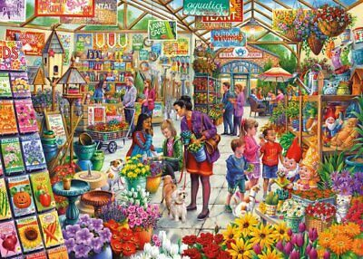 Gibsons Gardeners Delight 1000 Piece Jigsaw Puzzle New G6305 • 17.49£