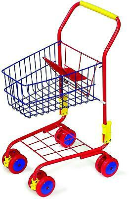 Legler Small Foot Children's Blue And Red Shopping Trolley • 32.82£