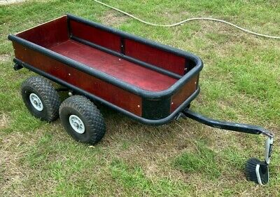 Berg Trailer For Tractor Jeep Go Kart Working Condition • 100£