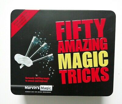 Marvin's Magic MMT120 Fifty Amazing Magic Tricks Game • 9.99£