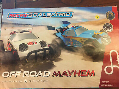 Micro Scalextric Set - Off Road Mayhem Buggy Set  • 15£