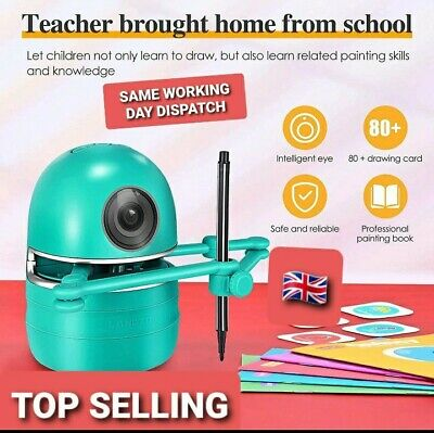 English Version Quincy Tutor Robot,reading,numbers,spelling,educational Toy,uk • 65£
