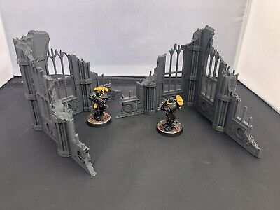 3D Printed Kill Team Gothic Ruins Scatter Terrain/Scenery For 28mm Warhammer 40k • 9.99£