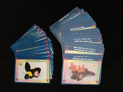 Ty Beanie Babies West Highland Trading Card Set Including Chase Cards 1 - 111 • 19.95£