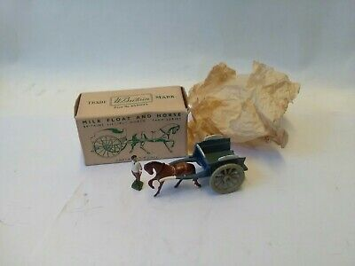 Britains Vintage Farm Lilliput Milk Cart With Milkman Me Mint And Boxed Original • 65.99£