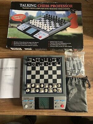 Talking Chess Professor By PowerBrain Talking Computer Chess Set • 19.99£