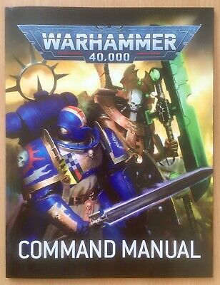 Command Manual From Command Edition Starter Set - Warhammer 40,000 - New • 2.99£