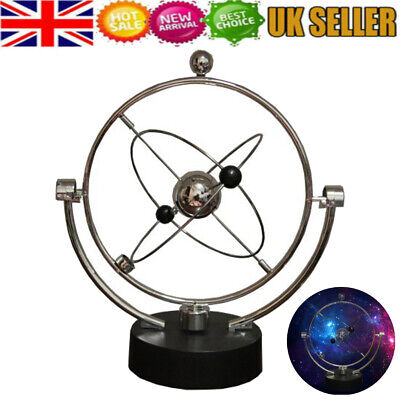 Kinetic Orbital Revolving Gadget Perpetual Motion Home Desk Art Toy Special Gift • 8.45£