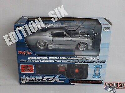 Maisto Custom Shop Rc 1:24 1967 Ford Mustang GT Radio Controlled American Muscle • 30£