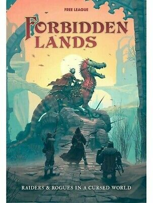 Forbidden Lands Boxed Set RPG Roleplaying Game Free League Fantasy Book • 39.99£