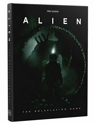 Alien The Roleplaying Game RPG Free League Ridley Scott Movie Game Book • 39.99£