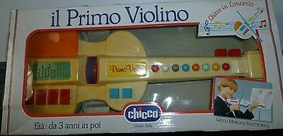 Chicco Vintage First Violin Electronic Musical Toy   -   New • 27.50£