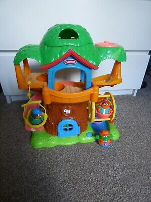 Hasbro Playskool Weebly Wobbly Treehouse 2004 With 3 Weebles 18m+ • 24.99£