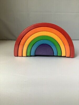 Grimm's Game And Wood Design, Rainbow (6-pieces, Medium) • 45£