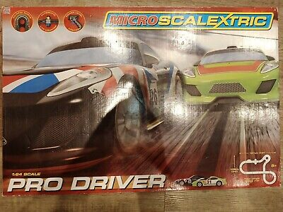 Micro Scalextric Pro Driver 1:64 Used Tested G1105 • 24.99£