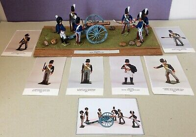 Tradition Of London Royal Horse Artillery 1815 (6) + 9 Pounder Gun/Diarama/EXC! • 65£