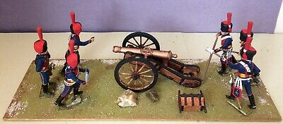 Tradition Of London French Horse Artillery 1815 (6) + 9 Pounder Gun+Diarama/EXC! • 65£
