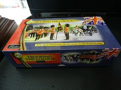 William Britain 2 Boxed Figures From Set 40392 - Trooping The Colour • 9.95£