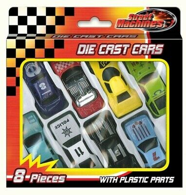 8x Die Cast Cars Gift Set F1 Racing Vehicle Children Kids Play Toy Stocking Gift • 2.49£