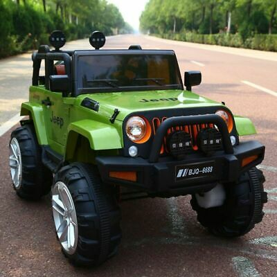 Kids Ride On Car 12v Electric Remote Control Car Jeep Extream 2 Seater Mp3 Toy • 169.99£