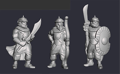 28mm Palace Guards Empire Of Scorching Sands EC3D • 7.50£