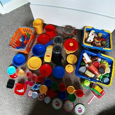 Extra Large Pretend Play Food With Accessories Job Lot • 34.99£