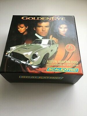 C3163A Scalextric Goldeneye James Bond 007 Aston Martin DB5 3rd Of 3 • 32£