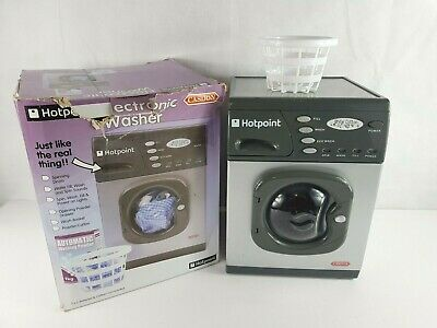 Casdon 476 Hotpoint Electronic Washer Washing Machine Toy *SEE DESCRIPTION* • 19.99£