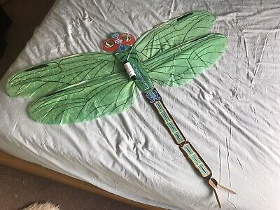 Unique Silk Dragonfly Kite • 29.99£