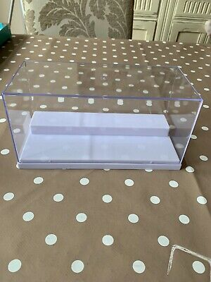 Acrylic Display Case (19.5 X 8.5 X 8.5 CM) Tingacraft Brand No Assembly Required • 4.80£