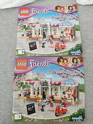 Lego Friends 41119 Heartlake Cupcake Cafe INSTRUCTION MANUALS ONLY - Retired Set • 4£