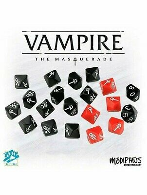 Vampire The Masquerade 5th Edition Dice Set RPG Roleplaying Game Modiphius • 14.99£