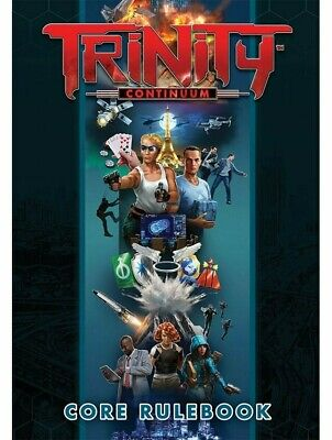 Trinity Continuum RPG Core Rulebook Roleplaying Game Onyx Path Publishing • 33.99£