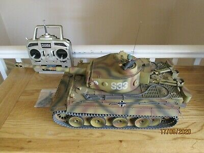 Tamiya Tiger I 1/16 Full Option RC Tank - Early Production - Das Reich Kursk  • 155£