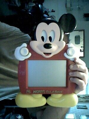 Disney Mickey Mouse Ohio Etch A Sketch Original Home Doodling Toy Charity  • 25£