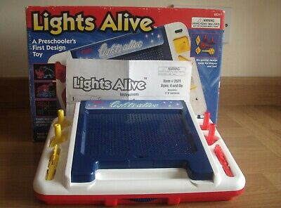 Tomy LIGHTS ALIVE Retro Design Toy - Complete And Highly Collectable! • 55£