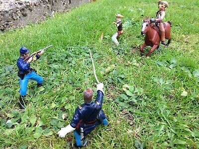 Papo Cowboy And Cavalry Figures • 12.95£