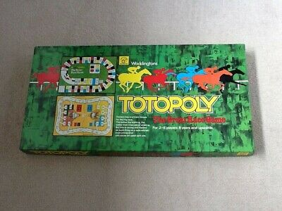 Totopoly 1978 Edition - Waddingtons (complete) • 17.99£