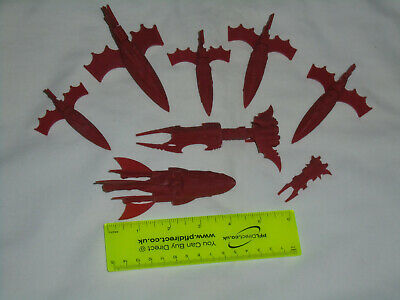 Dark Eldar/ Eldar/ Space Elves BFG Battlefleet Gothic Lot • 38£