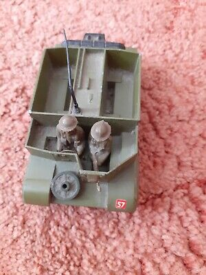 Dinky Toys 622 Bren Gun Carrier With Figures, Vintage Military Diecast • 3.99£