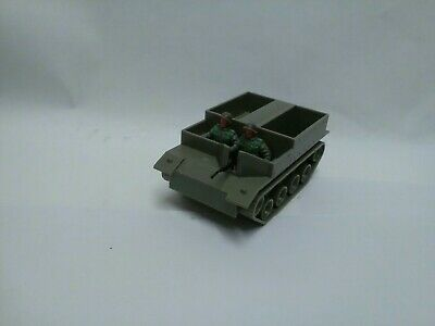 Vintage  Plastic Timpo Military Personnel Carrier With Soldiers Large Scale Rare • 75.99£
