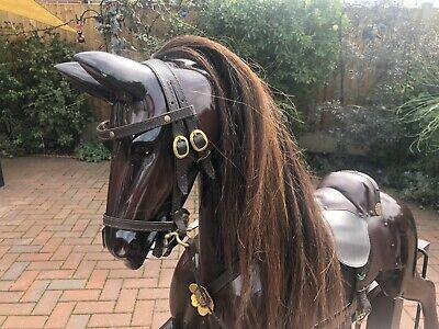 Champion Large Rocking Horse Beautiful Condition Collection Only • 400£