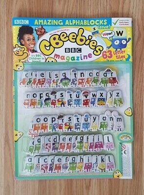 Cbeebies Alphablocks 63  Letters  Phonics / Letter Sounds Learning Stickers • 9.99£
