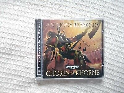 Games Workshop Warhammer 40k Black Library Audio Drama Chosen Of Khorne • 3.90£