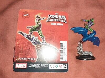 Green Goblin Knight Models Marvel Spider-man Miniature Game Painted • 25£